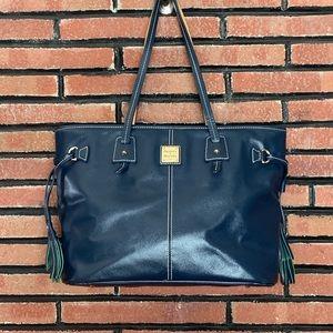 Dooney & Bourke Navy Shoulder Bag